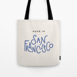 Made in San Francisco Tote Bag