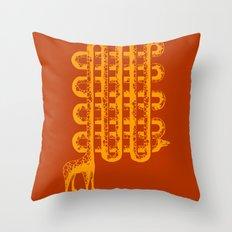 Neck Pattern Throw Pillow