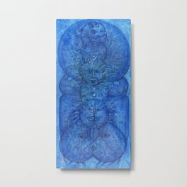 Arthrobryozoic Naiad Metal Print