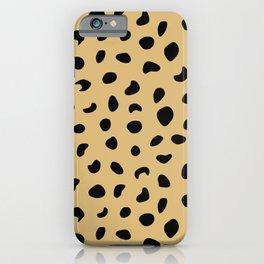 Leopard Print - Warm Neutral iPhone Case