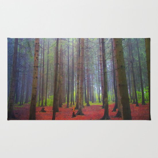 Back to the forest Rug