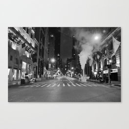 5th Ave Noir Part 3 Canvas Print
