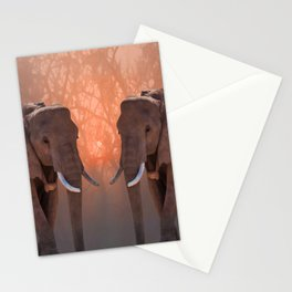 Serengeti Kings Stationery Cards