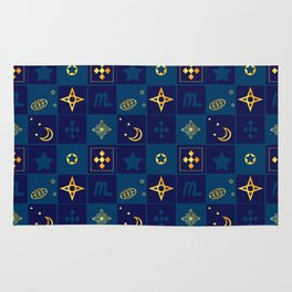 Night Waltz of the planets. Rug