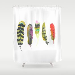 Fall like a Feather Shower Curtain