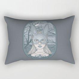 The Wrong Alice Rectangular Pillow