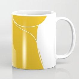 Line drawing nude with love Coffee Mug