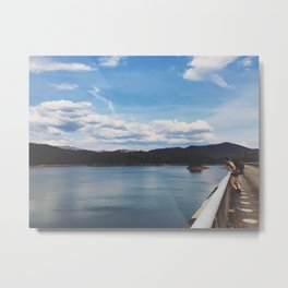 Looking Out To Fontana Dam • Appalachian Trail Metal Print
