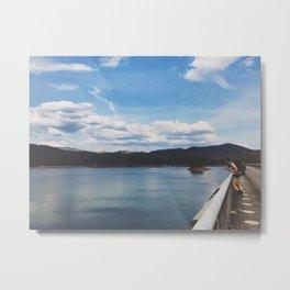 Looking Out To Fontana Dam • Appalachian Trail Metal Print