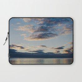 sunset at bark bay I Laptop Sleeve