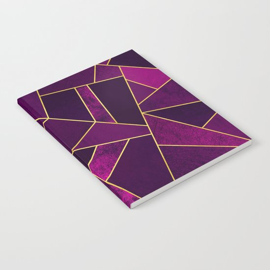 Purple Stone Notebook