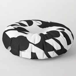 Style Needs No Color Floor Pillow