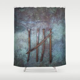 Five Nails Shower Curtain