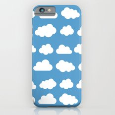White clouds on a blue skies iPhone 6s Slim Case
