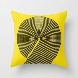wobbly 9 Throw Pillow