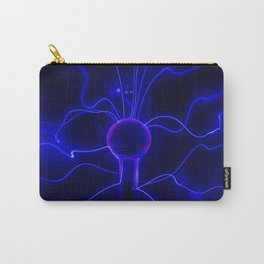 Blue Lightnings Carry-All Pouch