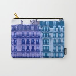 Colorful Paris Buildings Carry-All Pouch