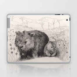 Path to wombat pool Laptop & iPad Skin