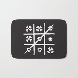 Skull + Bones Bath Mat