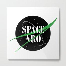 Space Aro Metal Print