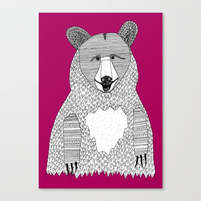 This bear Canvas Print