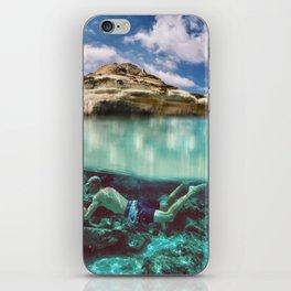 diving iPhone Skin