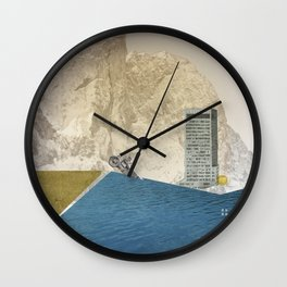atmosphere 7 · End of the night Wall Clock