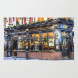 The White Lion Covent Garden London Rug
