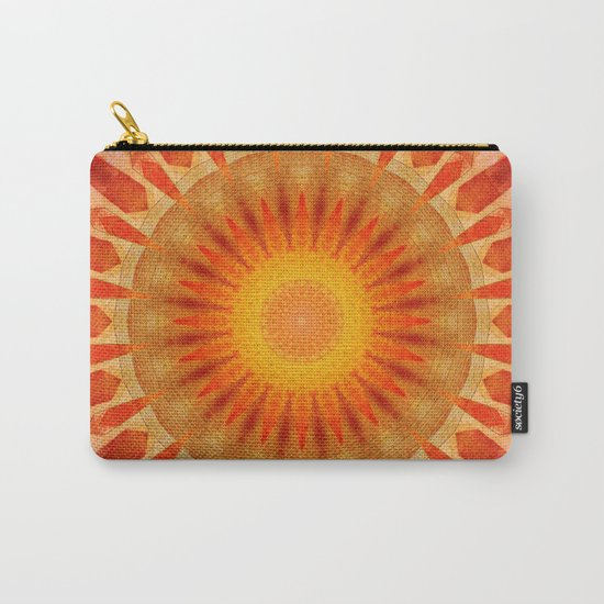Mandala sunset Carry-All Pouch