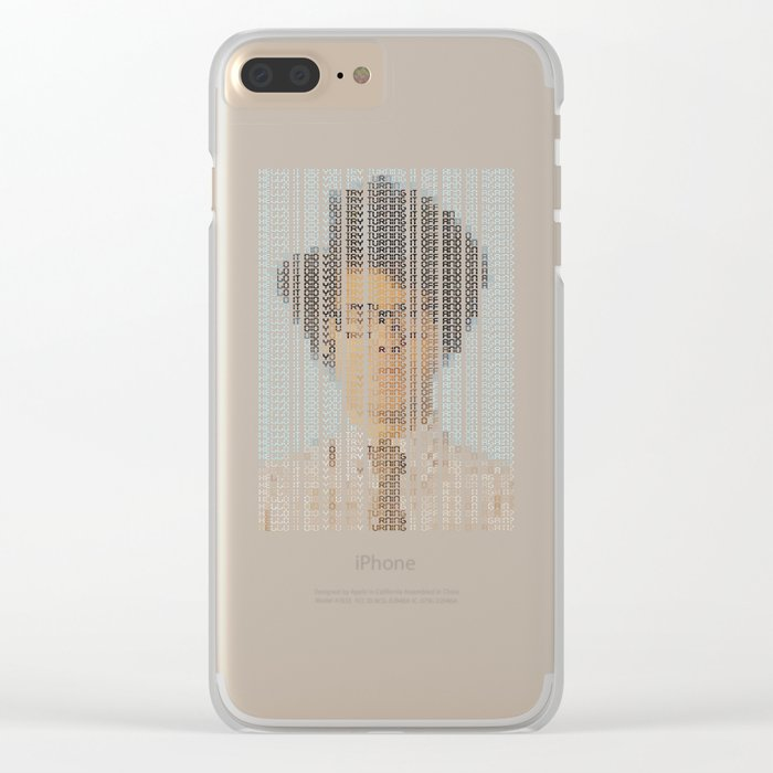 The IT Crowd Clear iPhone Case
