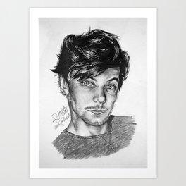 Louis Tommo Drawing Art Print