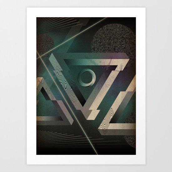 Void 43 Art Print