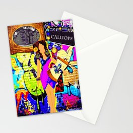 Calliope of New Orleans Stationery Cards