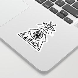 They Watch Us Sticker