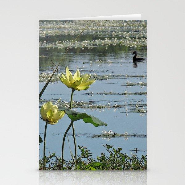 Lake Morning Stationery Cards