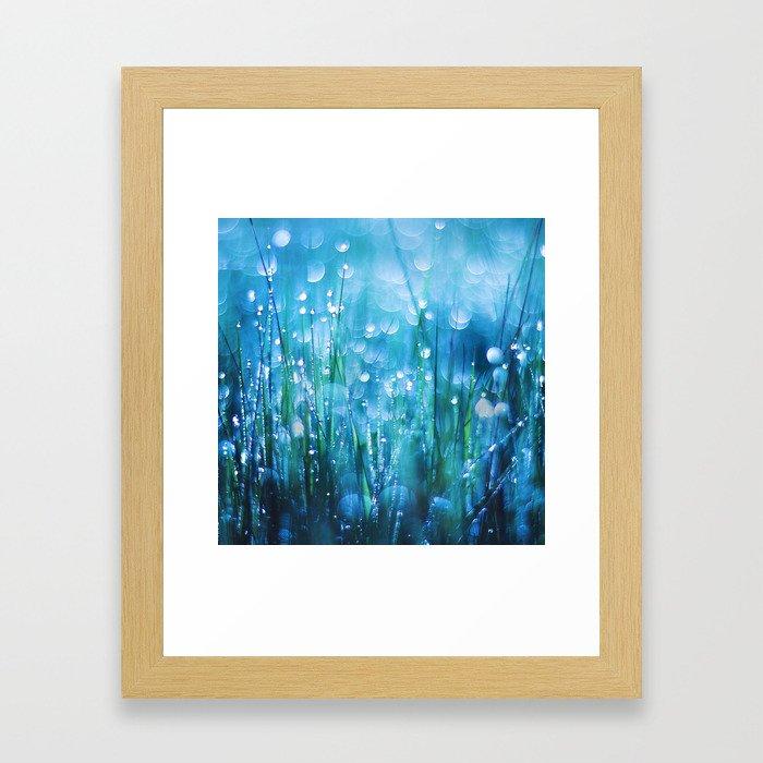 Crystals of Life Framed Art Print