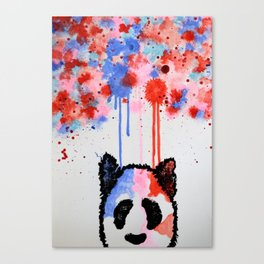 Rogue Panda -I Thought Painting Canvas Print