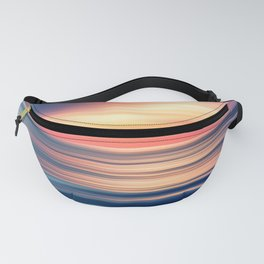 Abstract Sunset II Fanny Pack