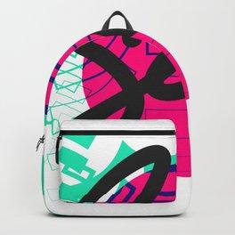 Seek Japanese/English Print Backpack