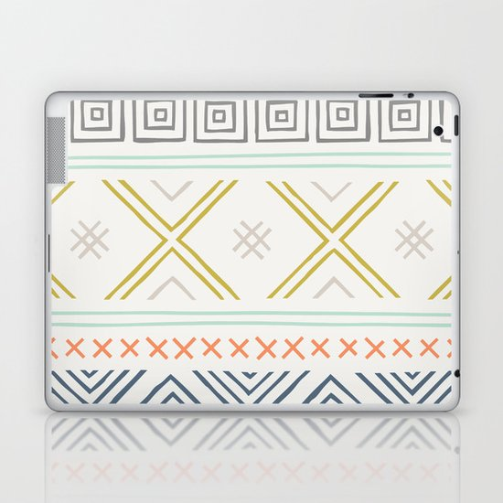 Into the West - in Mixed Earthtones Laptop & iPad Skin