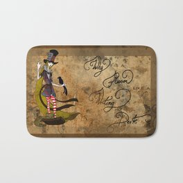 Mad Alice: Why is a Raven like a Writing Desk? Bath Mat