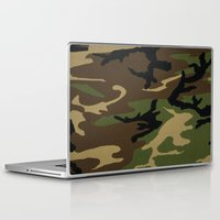 camo Laptop & iPad Skins featuring Camo by gypsykissphotography