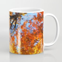 Autumnal colors in forest Coffee Mug