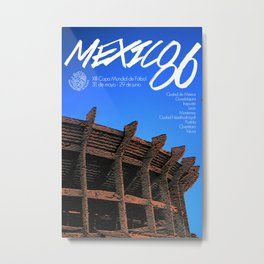 World Cup: Mexico 1986 Metal Print