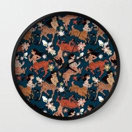 Deer lady (It's kind of a pun) Wall Clock