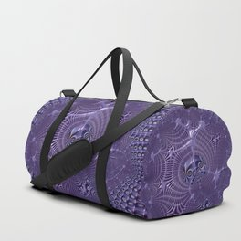 The relationships - An abstract fractal illustration Duffle Bag