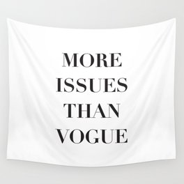 Issues Wall Tapestry