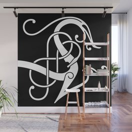 Urnes Style Ornament I Wall Mural