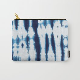 Linen Shibori Shirting Carry-All Pouch