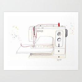 Bernina Sewing Machine Art Print